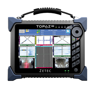 TOPAZ32 Portable 32 Channel Phased Array UT Instrument - JWJ NDT