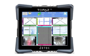 New Zetec TOPAZ16 Ultrasonic Instrument Delivers Best-in-Class Productivity and Unmatched Value