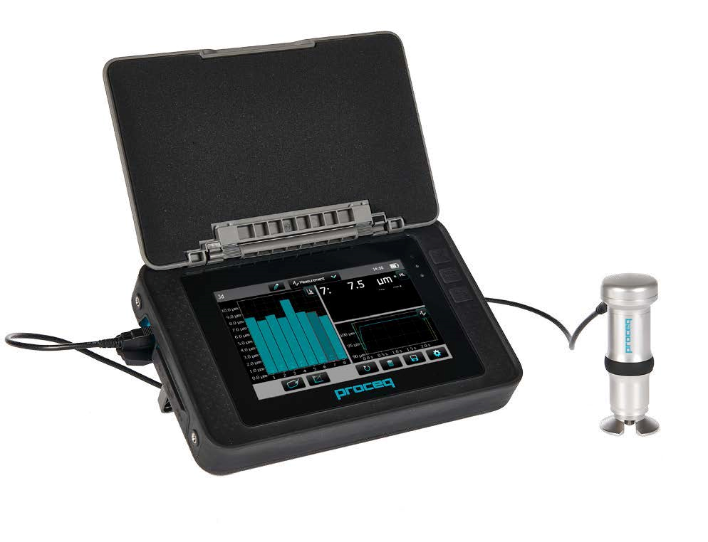 JWJ now offers Proceq's Equotip Portable Hardness Test equipment!
